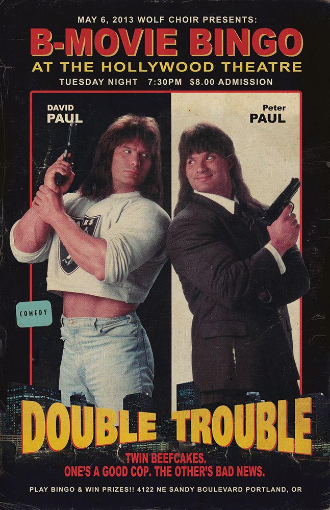 Double Trouble (1992 film) BMOVIE BINGO DOUBLE TROUBLE BMOVIE BINGO