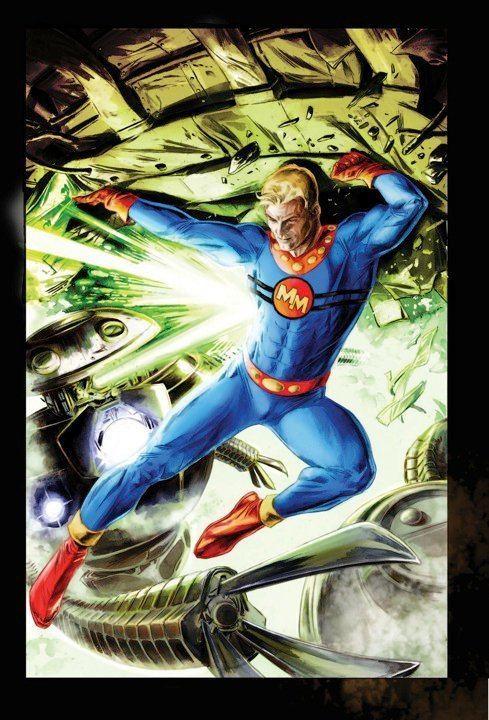 Doug Braithwaite Doug Braithwaite39s Marvelman Variant cover Forbidden