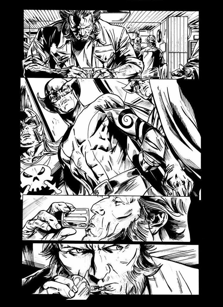 Doug Braithwaite Wolverine Origins by Doug Braithwaite INK by Johnkelly