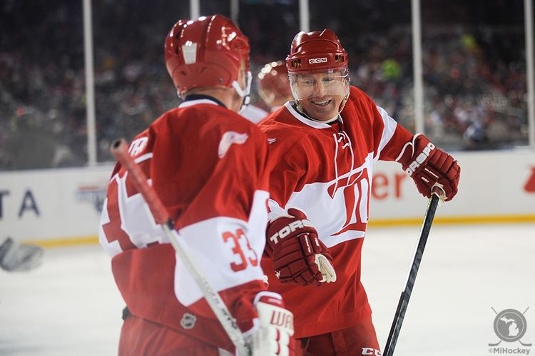 Doug Brown (ice hockey) Catching up with former Red Wings star Doug Brown