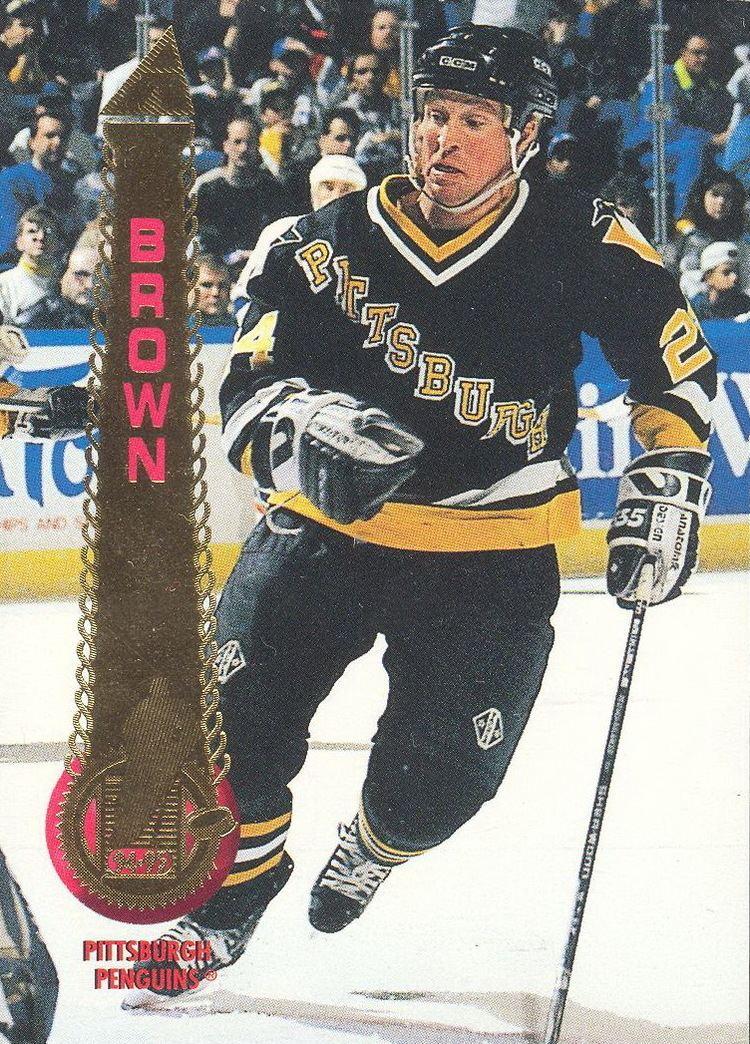 Doug Brown (ice hockey) Doug Brown Players cards since 1993 1995 penguinshockey