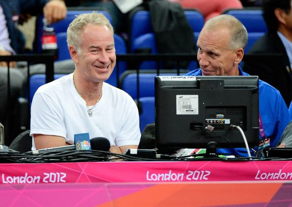 Doug Collins (basketball) John McEnroe Photos Olympics Day 12 Basketball Zimbio