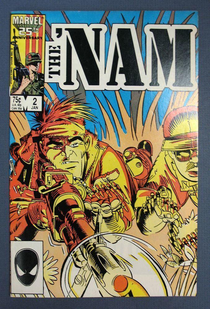 Doug Murray (comics) The NAM Volume 1 No 2 Dustoff Comic Book Doug Murray 1st