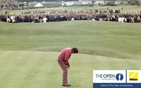 Doug Sanders The Open greatest moments so close for Doug St Andrews