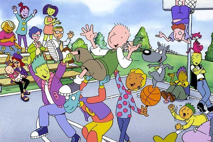 Doug (TV series) Doug TV Show From Nickelodeon To Disney Channel Ruined