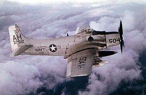 Douglas A-1 Skyraider Douglas A1 Skyraider Wikipedia