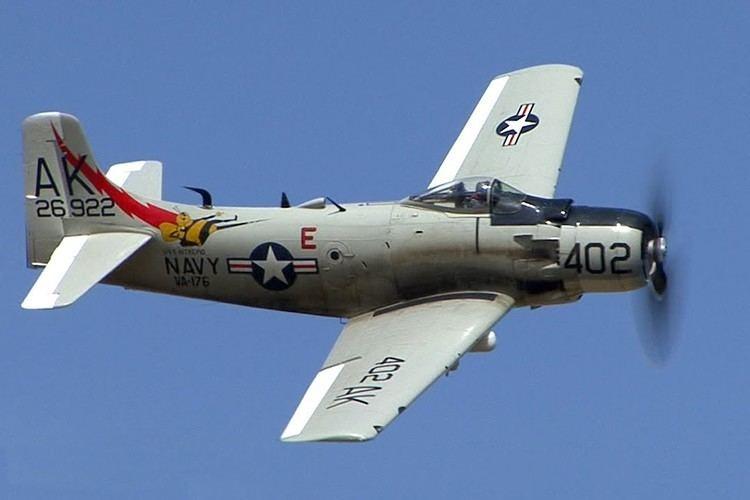 Douglas A-1 Skyraider Douglas A1 Skyraider Attack Aircraft YouTube