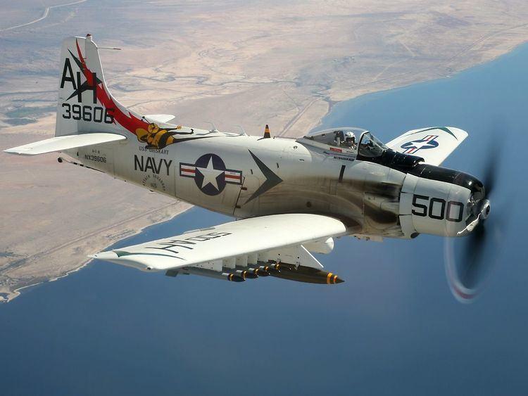 Douglas A-1 Skyraider httpssmediacacheak0pinimgcomoriginals29