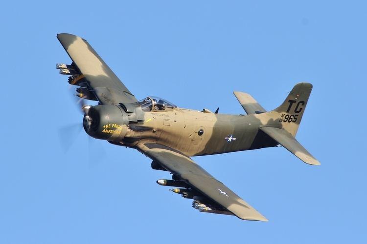 Douglas A-1 Skyraider FileDouglas A1 Skyraider AD4NA 126965 7911148090jpg
