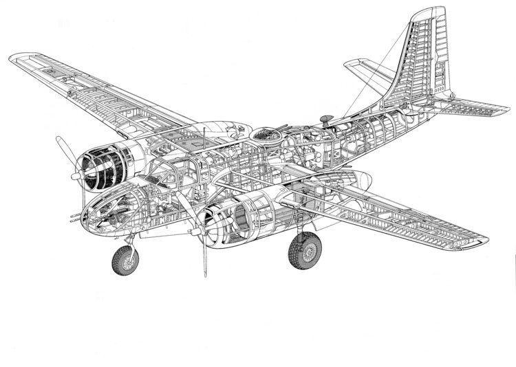 Douglas A-26 Invader Douglas A26 B26 Invader A26A Counter Invader RC Groups