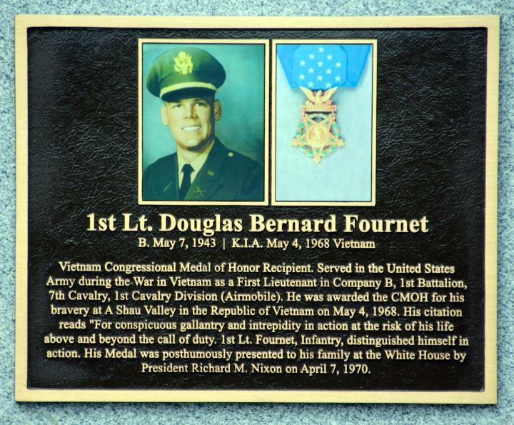 Douglas B. Fournet Douglas B Fournet Medal of Honor
