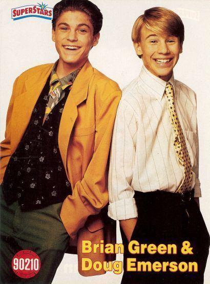 Douglas Emerson BRIAN AUSTIN GREEN DOUG EMERSON pinup Cute boys Rare ZTAMS