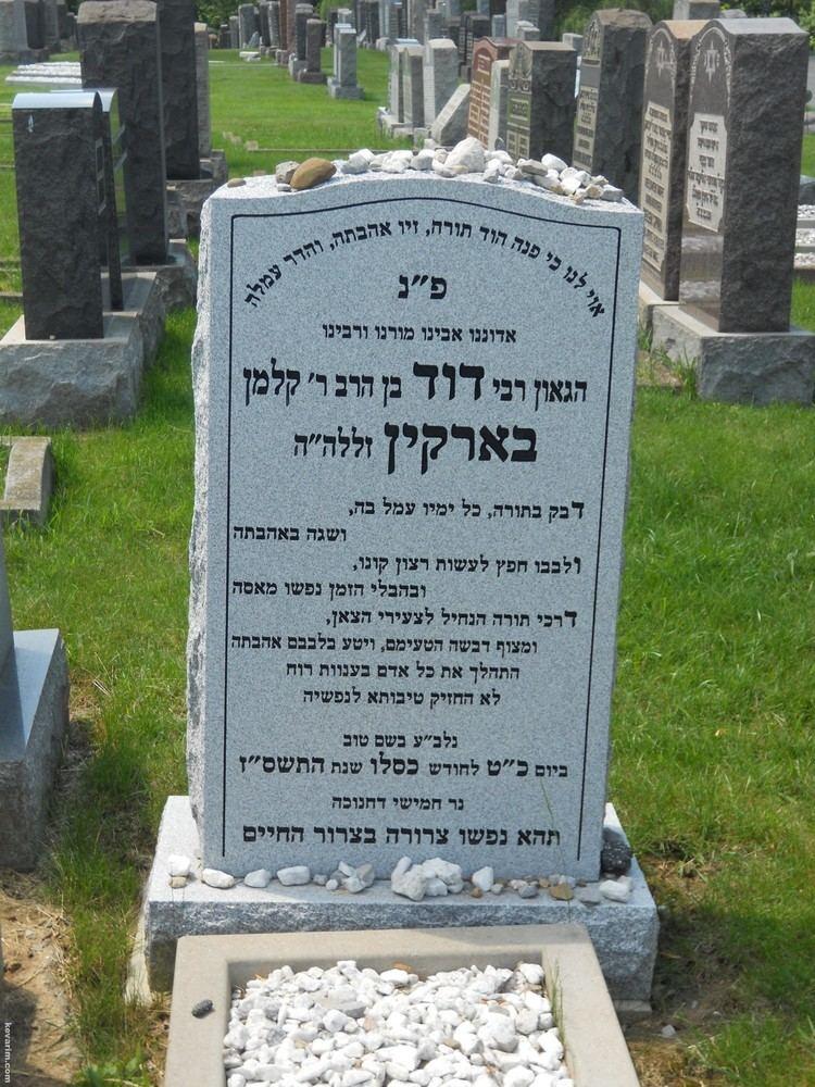 Dovid Barkin Rabbi Dovid Barkin kevarimcom