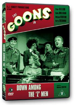 Down Among the Z Men The Goons in Down Among The Z Men DVD Second Sight Films