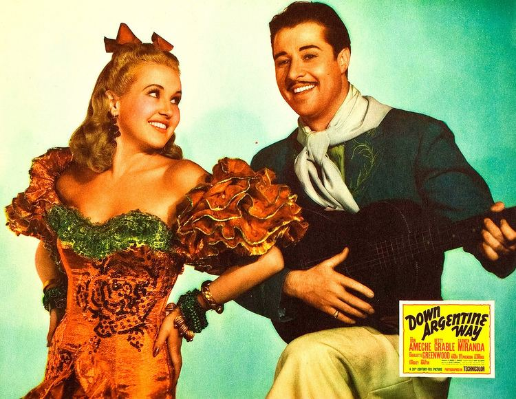 Down Argentine Way Betty Grable Don Ameche Down Argentine Way Joseph Black Flickr