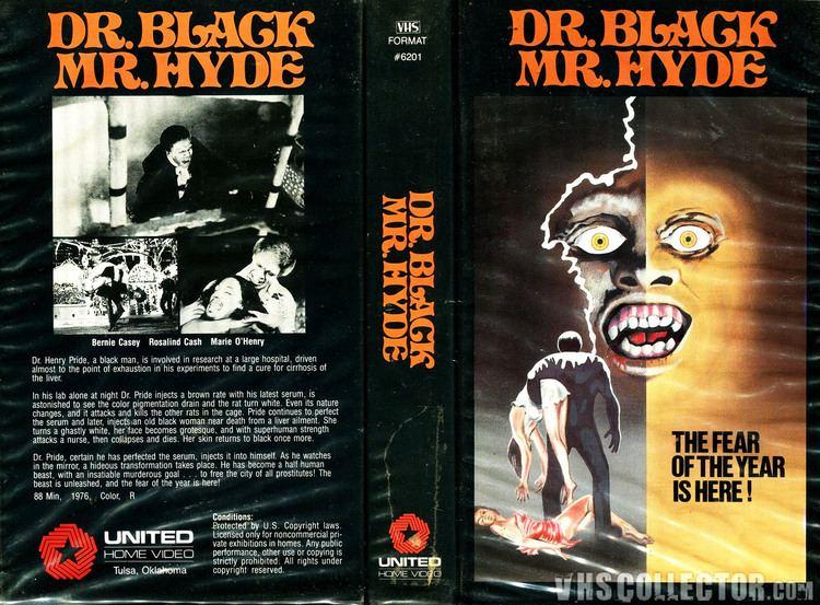 Dr. Black, Mr. Hyde dr black mr hyde vhs