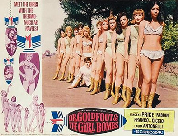 Dr. Goldfoot and the Girl Bombs Zontar of Venus Bavas Dr Goldfoot and the Girl Bombs 1966