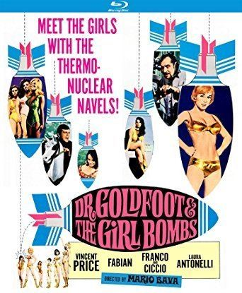 Dr. Goldfoot and the Girl Bombs Amazoncom Dr Goldfoot and the Girl Bombs Bluray Vincent Price