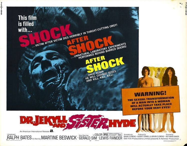 Dr. Jekyll and Sister Hyde In Praise of 1971s DR JEKYLL AND SISTER HYDE ComingSoonnet