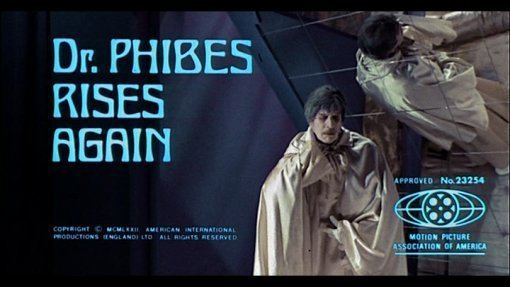 Dr. Phibes Rises Again Dr Phibes Rises Again 1972 DVD Review at Mondo Esoterica