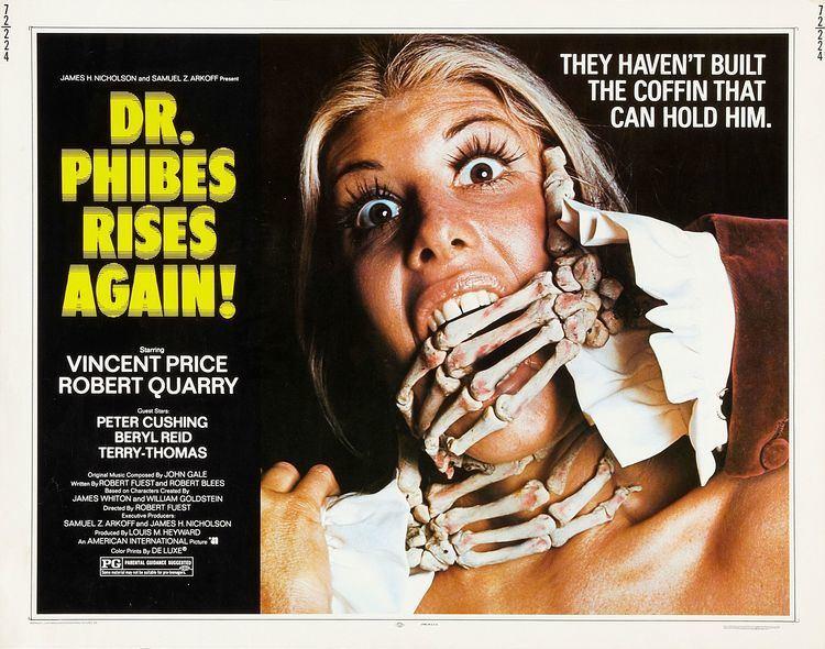 Dr. Phibes Rises Again Dr Phibes Rises Again 1972 HORRORPEDIA