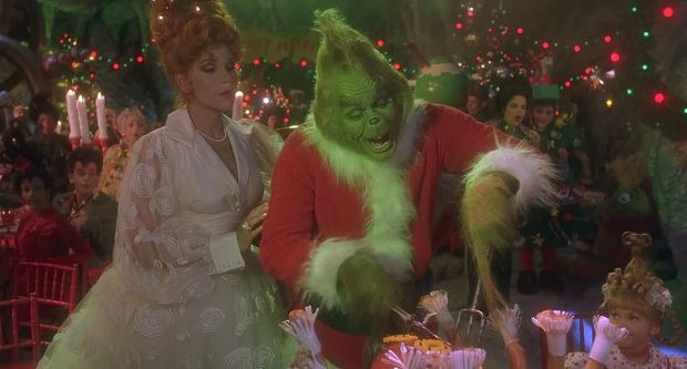 How the Grinch Stole Christmas! (film) movie scenes When the once feared and spiritless Grinch is welcomed to the Whoville Christmas dinner we can t help but get a little teary eyed