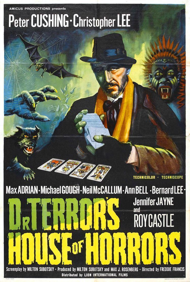 Dr. Terror's House of Horrors Dr Terrors House of Horrors UK 1964 HORRORPEDIA