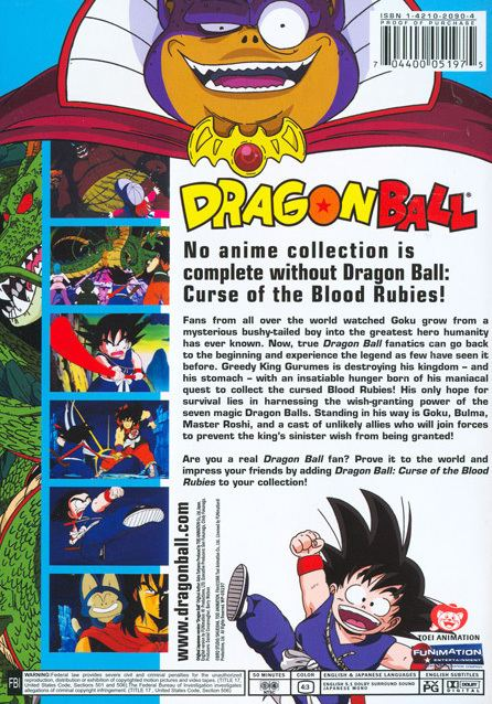 Dragon Ball: Curse of the Blood Rubies Reviews Curse of the Blood Rubies