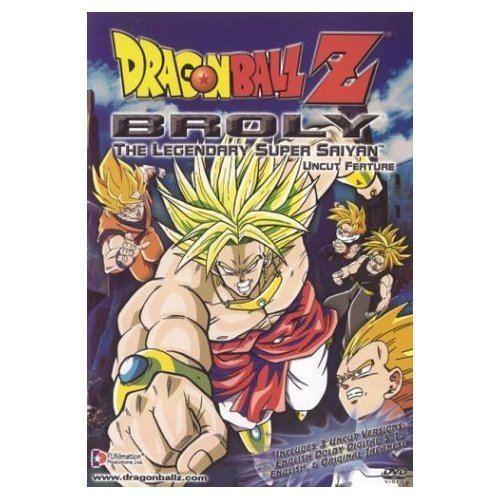 Dragon Ball Z: Broly – The Legendary Super Saiyan My Family Fun Dragon Ball Z Broly The Legendary Super Saiyan DVD