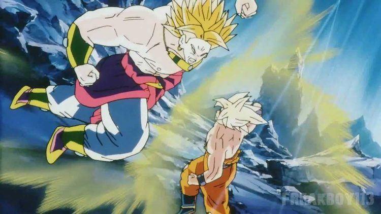 Dragon Ball Z: Broly – The Legendary Super Saiyan Dragonball z Movie 8 Broly The Legendary Super Saiyan 1280 x 720p HD
