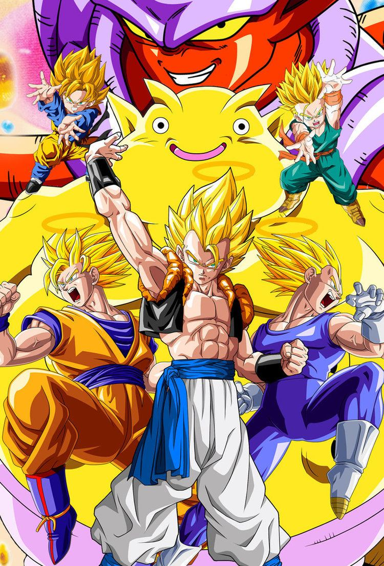 Dragon Ball Z: Fusion Reborn OAV 12 new cover Fusion Reborn by Dony910deviantartcom on