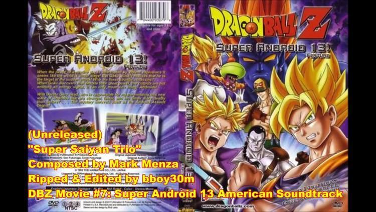 Dragon Ball Z: Super Android 13! DBZ Movie 7 Super Android 13 Super Saiyan Trio YouTube