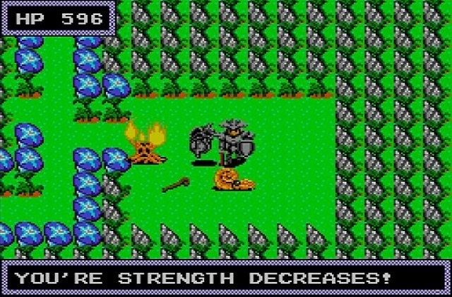 Dragon Crystal Dragon Crystal Sega Master System review by Never3ndr