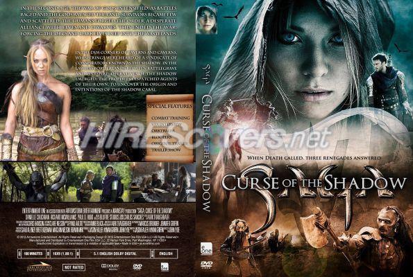 Dragon Lore: Curse of the Shadow DVD Cover Custom DVD covers BluRay label movie art DVD CUSTOM