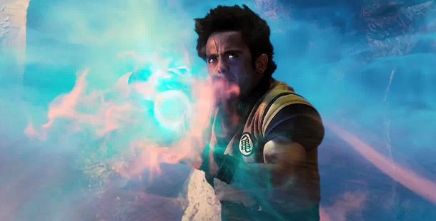 Dragonball Evolution movie scenes I was really excited to hear they were making a live action movie of Dragonball Like most fans of the series I always wondered what Dragonball would look