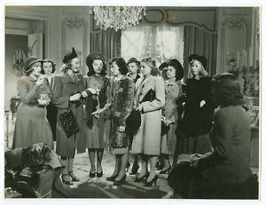Dramatic School (film) LUISE RAINER VIRGINIA GREY original movie photo 1938 DRAMATIC