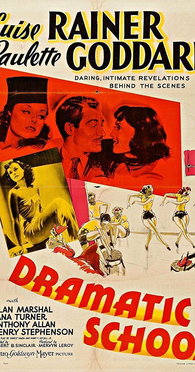 Dramatic School (film) Dramatic School 1938 IMDb