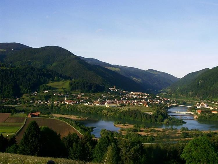 Dravograd in the past, History of Dravograd