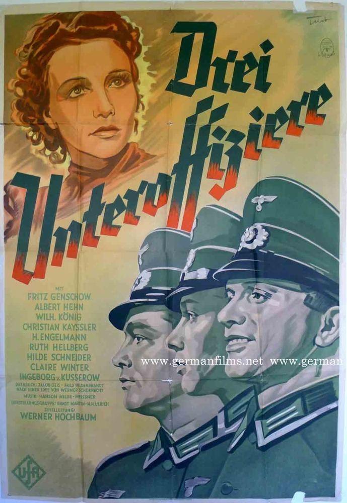 Drei Unteroffiziere RAREFILMSANDMORECOM DREI UNTEROFFIZIERE 1939