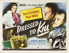 Dressed to Kill (1941 film) Dressed To Kill Movie Posters From Movie Poster Shop