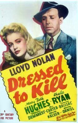 Dressed to Kill (1941 film) Dressed to Kill 1941 film Wikipedia