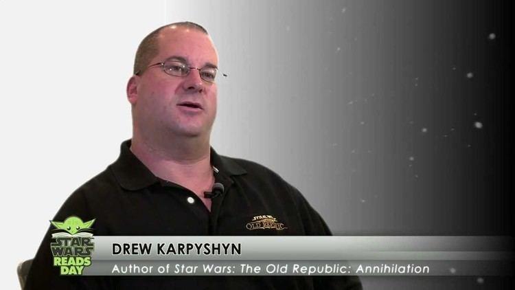 Drew Karpyshyn Star Wars Reads Day Drew Karpyshyn YouTube
