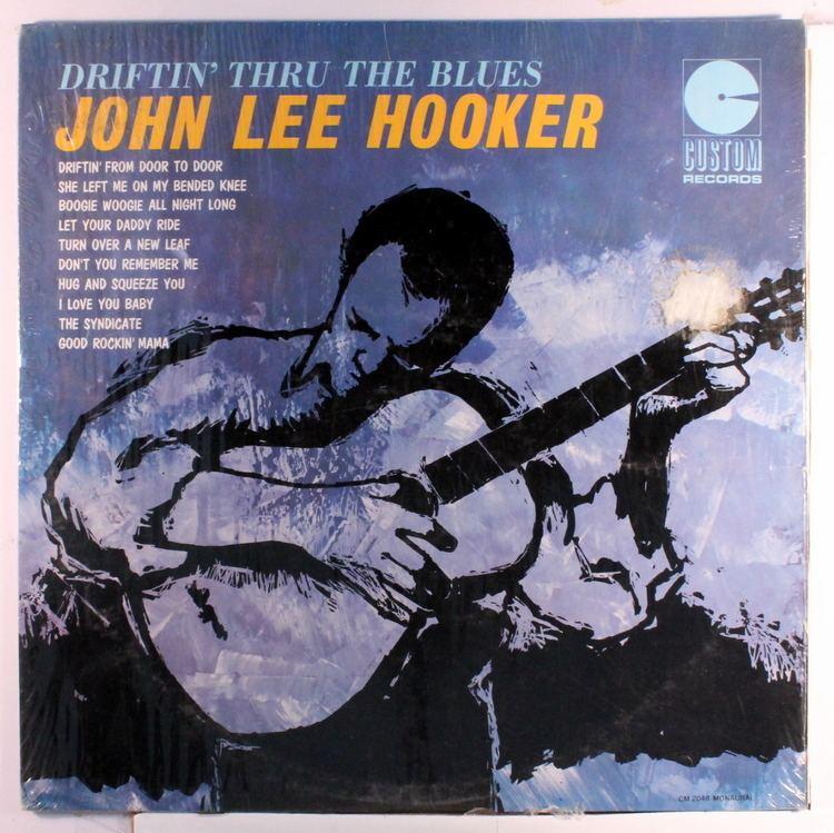 Driftin' Thru John Lee Hooker Driftin Thru The Blues Records LPs Vinyl and CDs