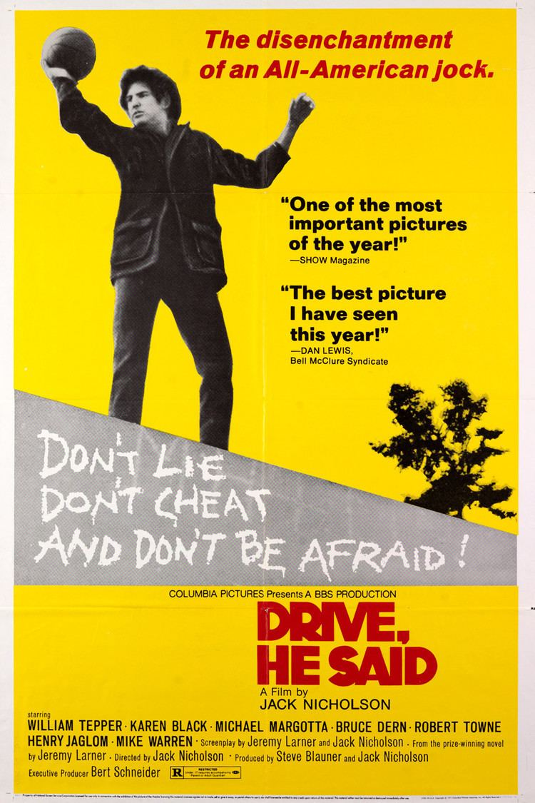 Drive, He Said wwwgstaticcomtvthumbmovieposters4694p4694p