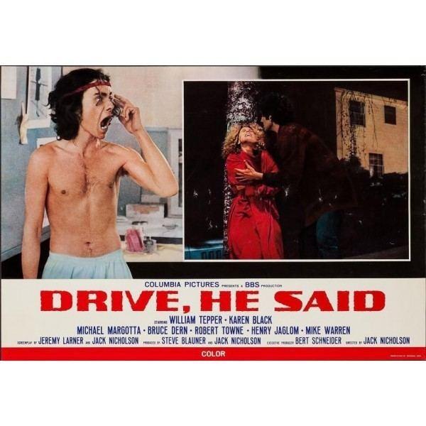 Drive, He Said Drive He Said Italian fotobusta movie poster set illustraction Gallery