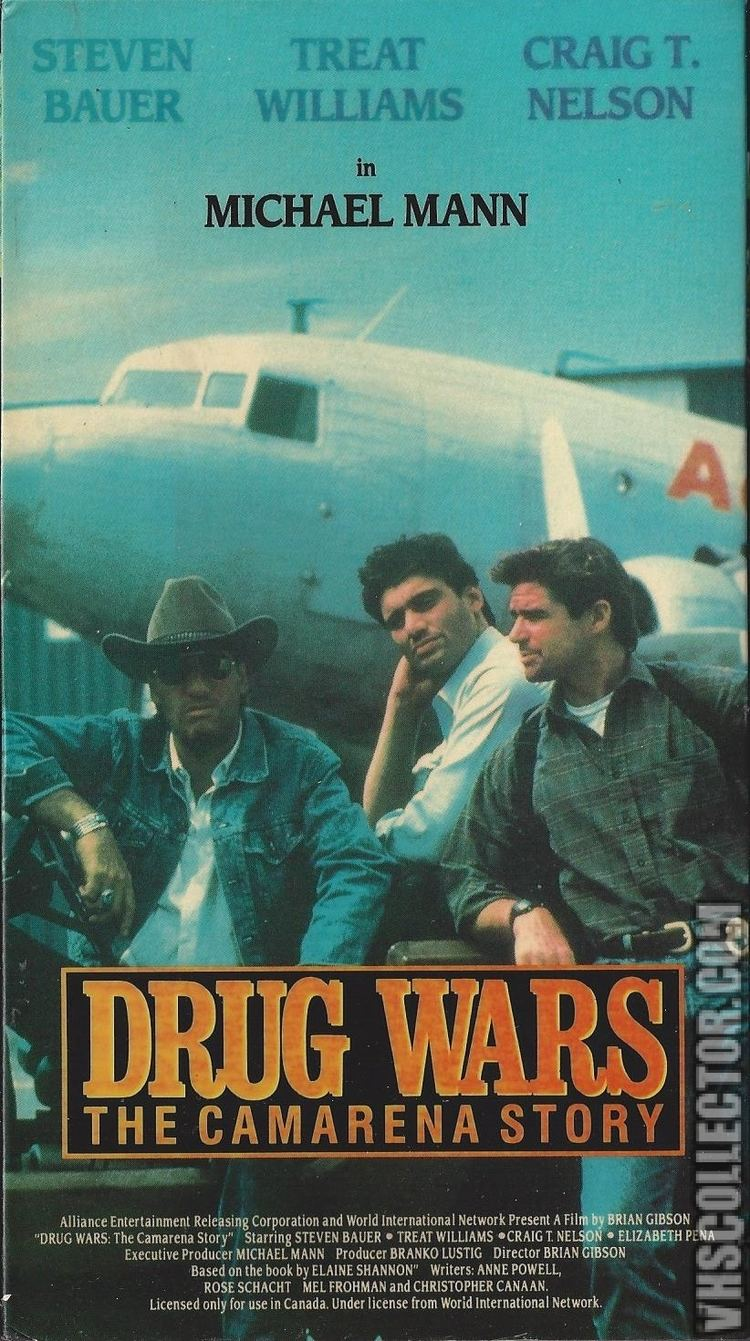Drug Wars: The Camarena Story Drug Wars The Camarena Story VHSCollectorcom Your Analog