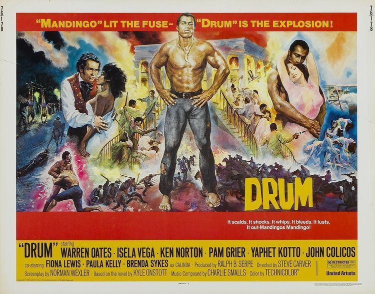 Drum (1976 film) Drum 1976 Movie Posters Pinterest Drums Warren oates and Films