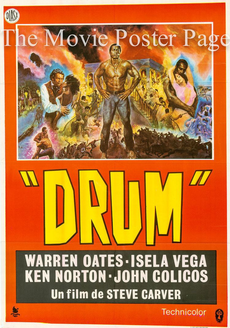 Drum (1976 film) Drum 1976 Ken Norton Spanish onesheet F EX 20