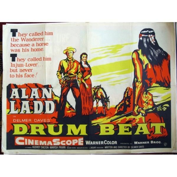 Drum Beat Drum Beat 1954 Original British Quad
