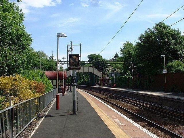 Drumchapel railway station